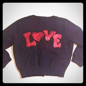 Betsey Johnson Love Sweater